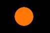 Чёрный с оранжевый